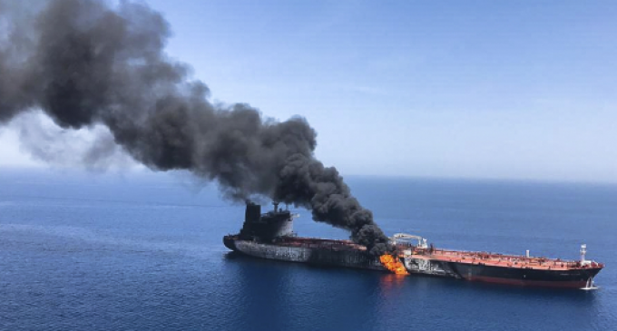 U.S.: Iran Removed Unexploded Mine from Oil Tanker