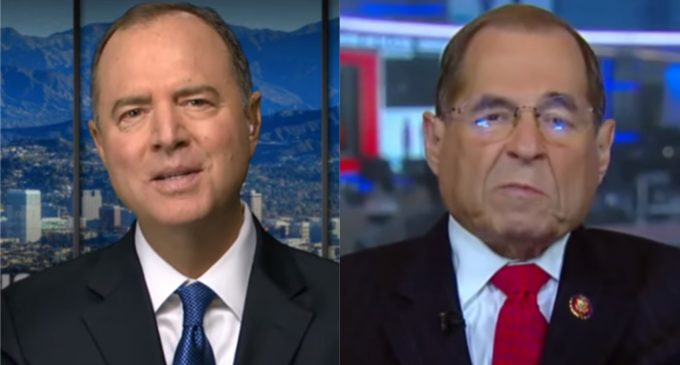 Nadler, Schiff: Trump is an 'Unindicted Co-conspirator' Who has Committed High Crimes and Misdemeanors