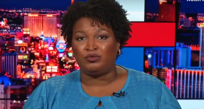 Abrams: RNC Will Send Off-Duty Officers to Scare 'Voters of Color'