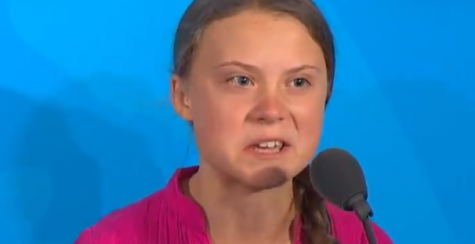 """Climate Alarmist Teen Yells at World Leaders, """"You Have Stolen My Childhood… How Dare You!"""""""