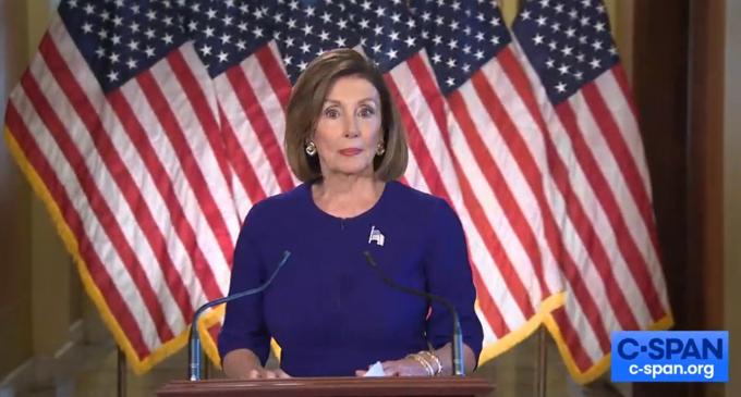 Pelosi Announces Official Impeachment Inquiry Against Trump