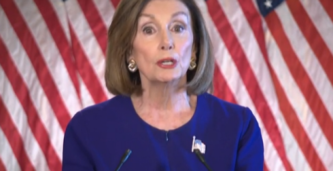 """Pelosi Cries Wolf with Vote to Have """"No Vote"""" on Impeachment"""