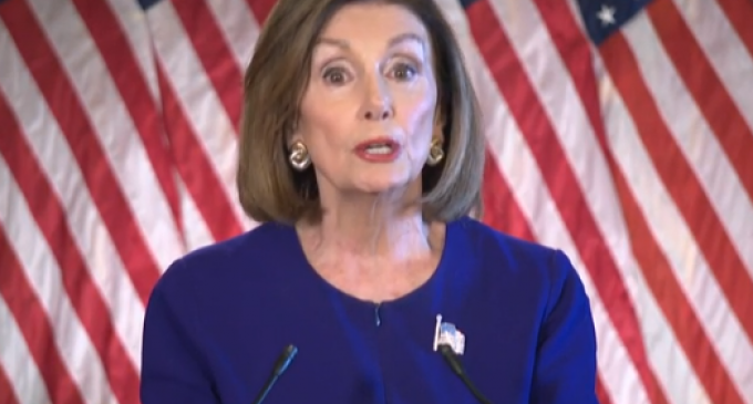 "Pelosi Cries Wolf with Vote to Have ""No Vote"" on Impeachment"
