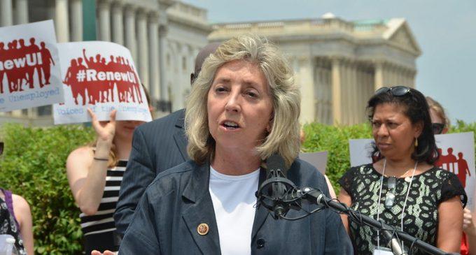 "House Democrat Dina Titus to Crowd:  ""Impeach the B*stard"""