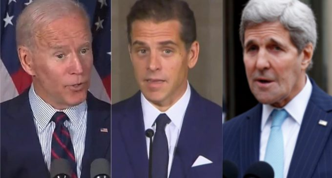 Bank Documents Confirm Burisma Investigation Ended Directly After Payments to Biden and Kerry Families