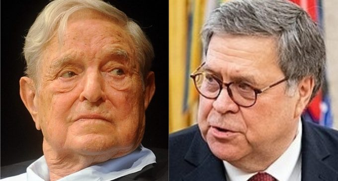 AG Barr Launches Scathing Rebuke Against George Soros