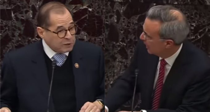 Nadler to Senators: You are 'Treacherous', 'Voting Against US', and 'Covering Up' for President Trump
