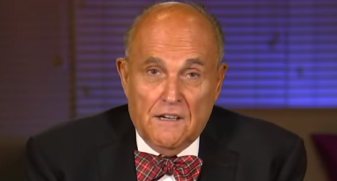 """Giuliani Says Flat Out """"Joe Biden is a Crook"""", """"If We Can't Prosecute Him, We Do Not Have Justice in America"""""""