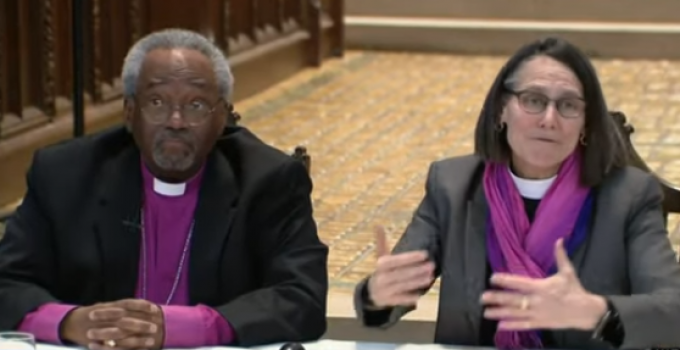 Lesbian Bishop Ordained: 'Jesus Said Absolutely Nothing About Homosexuality'