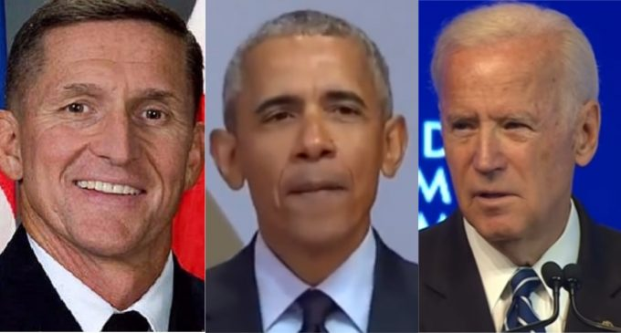 Newly Released Strzok Notes Implicate Biden, Obama Directly Ordering Sham Flynn Investigation