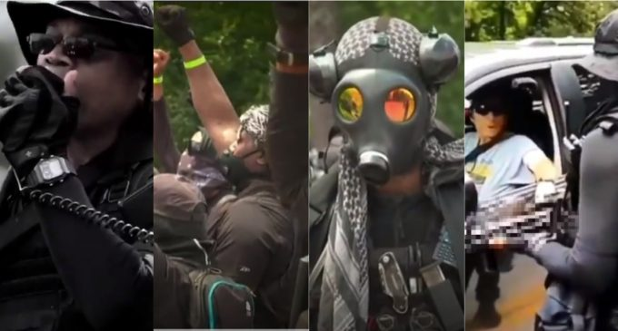 "Heavily Armed Black Militants Challenge ""White Militia"" at Stone Mountain Park"