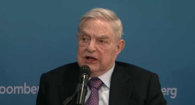 Soros Flashback: 'Trump Will Disappear In 2020 Or Sooner'