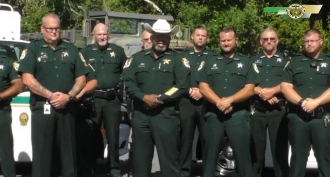 FL Sheriff to Rioters: I'll Deputize All Lawful Gun Owners if Necessary