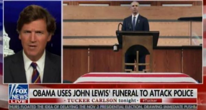 """Tucker Carlson: Obama was """"One of the Sleaziest and Most Dishonest Figures in History of American Politics"""""""