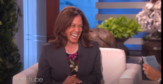 Kamala Harris Once Laughed Wildly Cracking a Joking About Killing President Trump