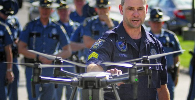 """60 Percent of Police Drones Made in China: """"A Direct Threat Whose Use Should Be Curtailed"""""""