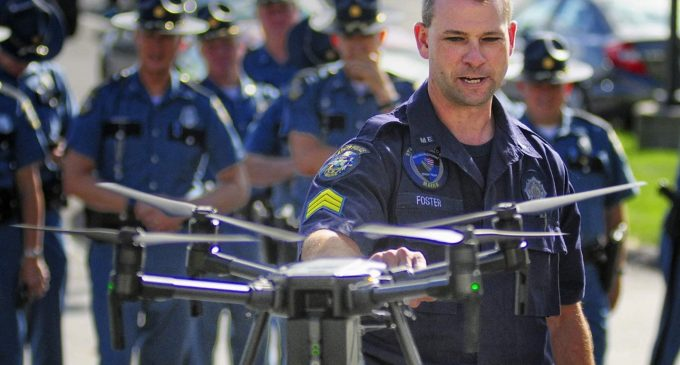 "60 Percent of Police Drones Made in China: ""A Direct Threat Whose Use Should Be Curtailed"""