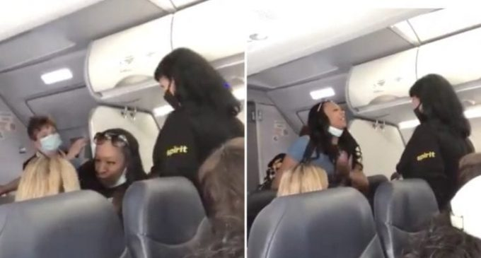 "Black Woman Refuses to Let White Flight Attendant Pass, ""You Need to Understand, You Don't Run America No More Sweetheart"""