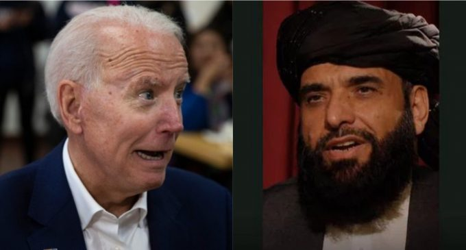 Taliban Threatens Biden: Pull Out Troops by Deadline or There Will Be 'Consequences'