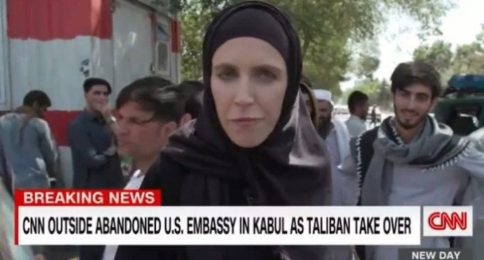 CNN's Ward: Taliban 'Chanting 'Death to America' but They Seem Friendly at the Same Time. It's Utterly Bizarre'