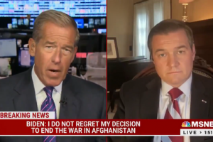 U.S. Army Vet Blasts Brian Williams, Biden's Remarks on Afghanistan