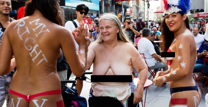 NYC Cops: We Can't Arrest Nude Illegal Immigrant Panhandlers