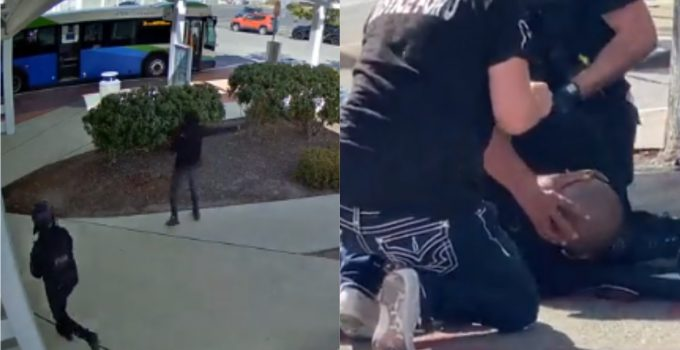 "Police Release Surveillance Video of Antifa Member Shooting Proud Boy Tusitala ""Tiny"" Toese"