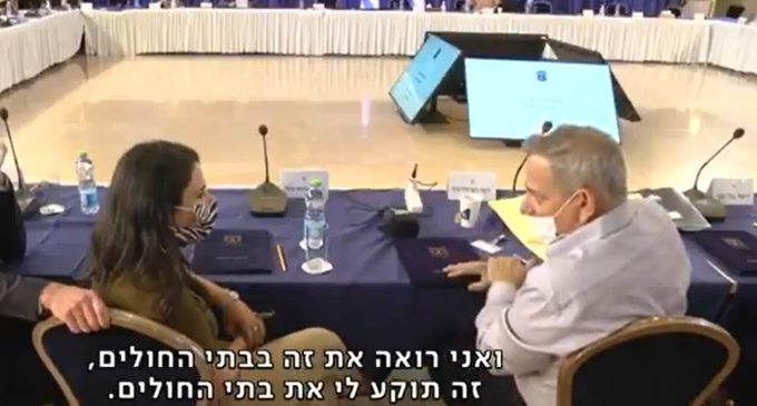"""Hot Mic: Israeli Health Minister No Medical Justification for Covid Passport, """"Only Intended to Pressure the Unvaccinated"""""""