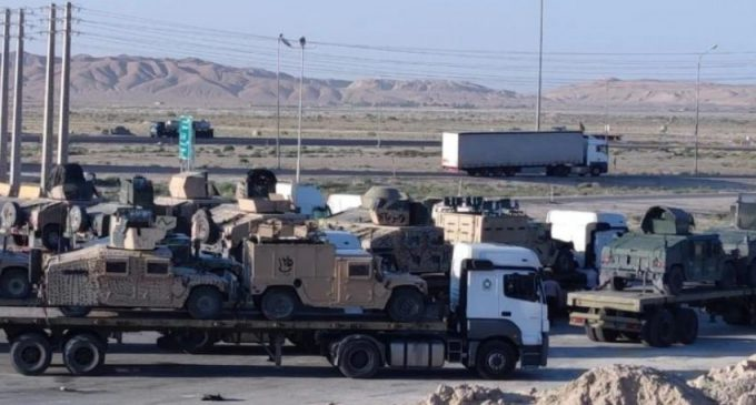 Report: Taliban gives US Tanks, Military Equipment to Iran
