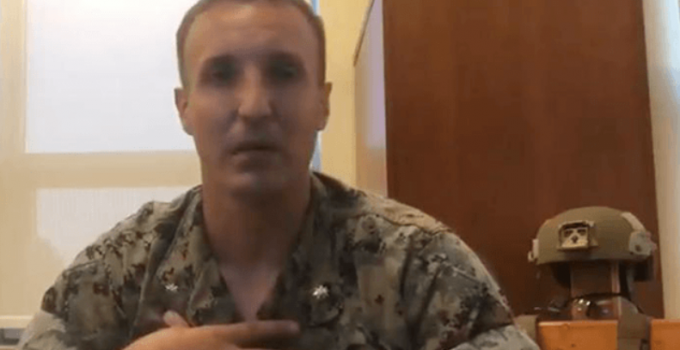 Marine Who Spoke Out Against Generals Over Afghanistan Thrown Into the Brig