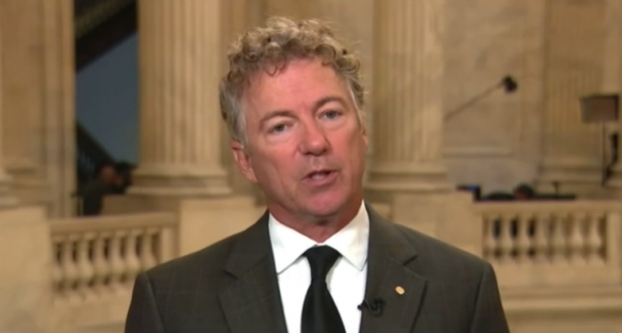 """Rand Paul Warns Americans: """"Be Afraid of Your Government"""", Watchlists of Dissenters """"Already Exist"""""""