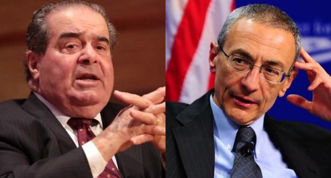 Leaked Podesta Email Suggests Justice Antonin Scalia was Assassinated
