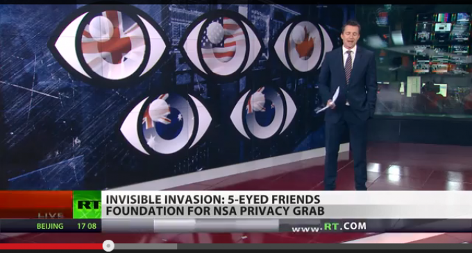 5 Countries Join Forces To Spy On The World