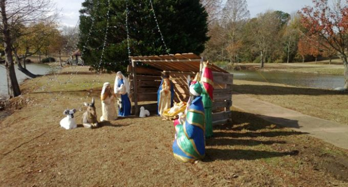 Atheists Force Removal of Nativity Scene at Shaw Air Force Base