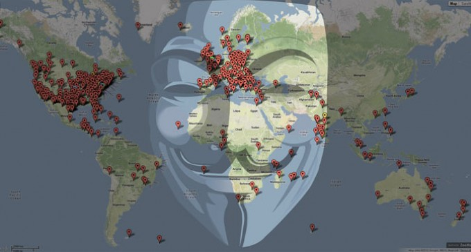 Anonymous Aims to Rally in 400 cities