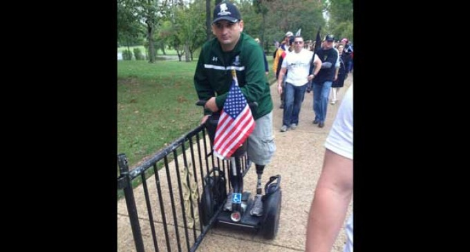 UPDATE: Million Vet March arrives at White House, DC Monuments