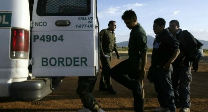 Border Patrol To Release 500 Illegal Aliens Per Week into US