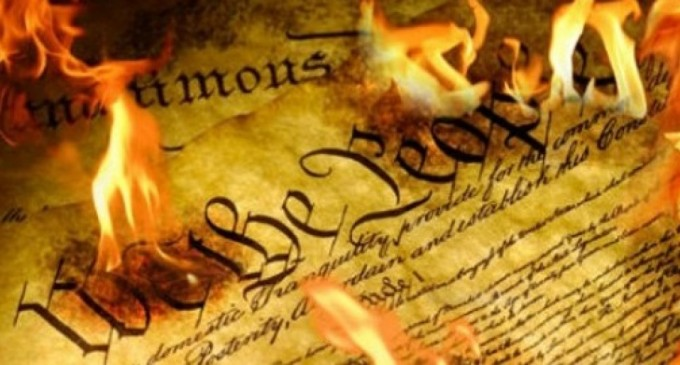 Yet Another University Forbids Students From Handing Out Constitution