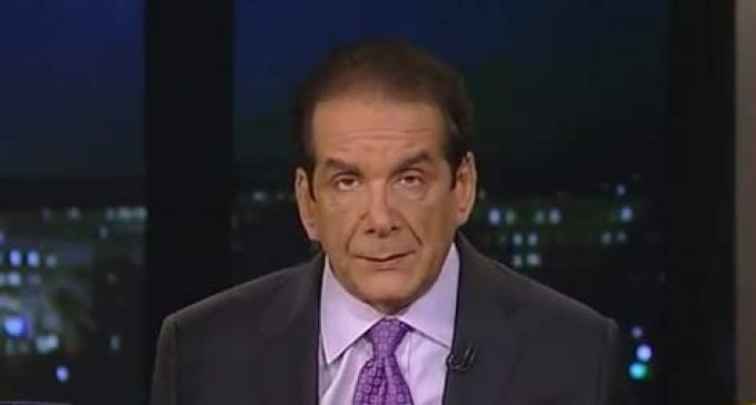 Krauthammer On Obama's Weak Reaction to Russian Invasion