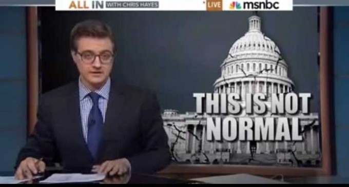Politicians and massive government can't be to blame – NBC News host thinks the Constitution Is the problem