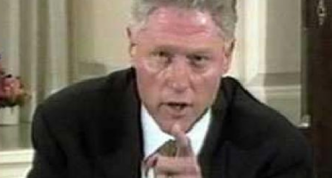 Bill Clinton Was Paranoid of Right Wing Using Internet
