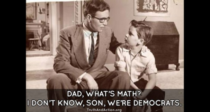 Democrats can't do math. Could America's problems be that simple?
