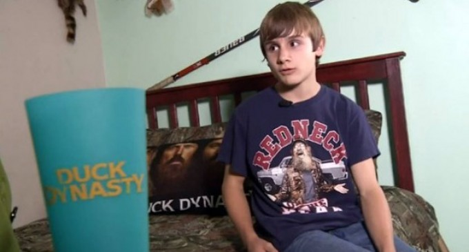 "Duck Dynasty ""Redneck"" TShirt forbidden at Florida School"