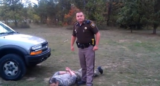 Armed property owner reports trespasser, gets charged with felony assault
