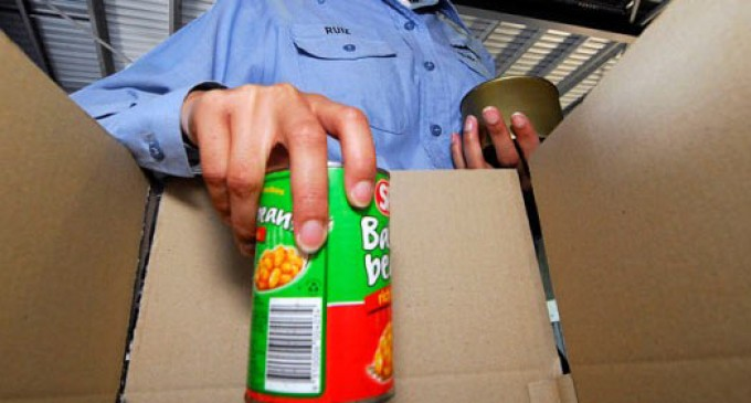 CRISIS: Food Bank Cupboards are nearly Bare, Organizers fear riots.