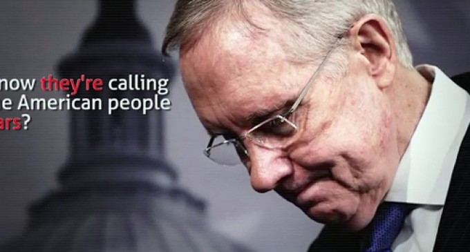 Who Do You Think Is Lying – Millions of Americans or Harry Reid?