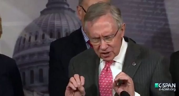 Video: Troubling Stupidity – Harry Reid Says People Can't Use The Internet