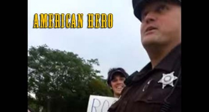 Open Carry Activists Supported By Local 'Hero' Sheriff