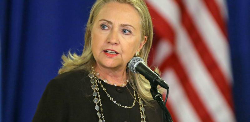 Hillary Actually Takes a Position on Gun Control
