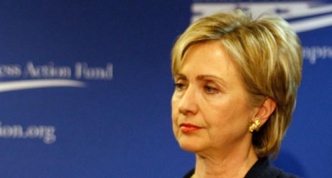 San Diego Shuns Hillary